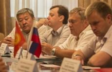 Встреча в Торговом представительстве РФ в КР 10 июля 2013 г.